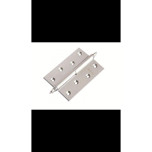 Петля латунная разъёмная с короной MB 100X70X3 SC L C
