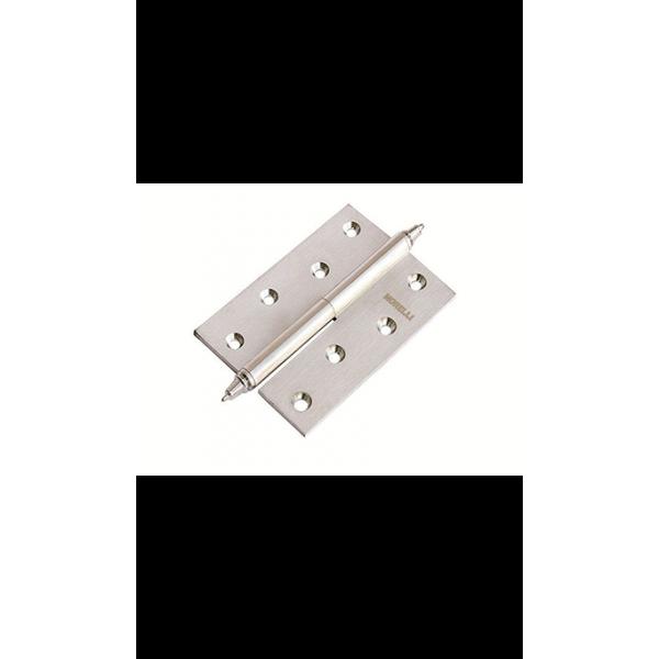 Петля латунная разъёмная с короной MB 100X70X3 SN L C