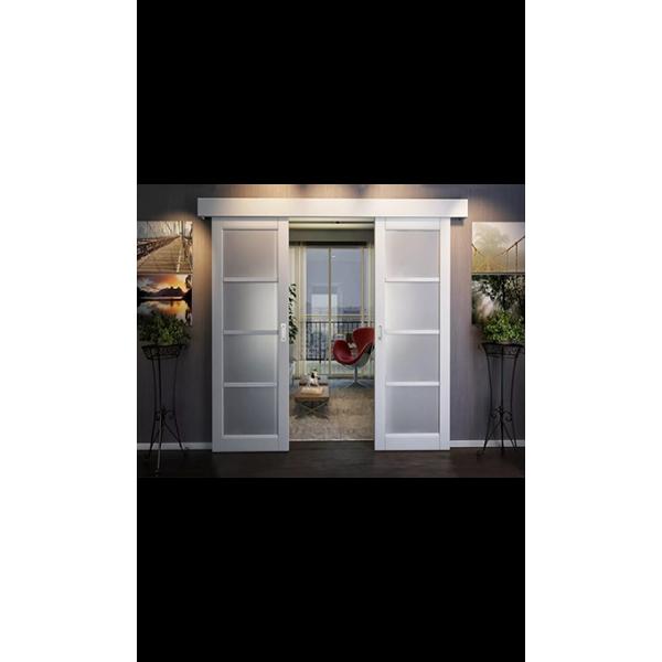 Комплект для двустворчатой двери синхронной открывания, обычный стопор. Ширина двери от 500 до 1100мм, вес до 60кг.