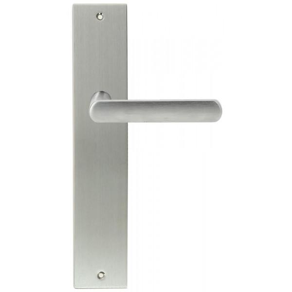 Дверная ручка Extreza Hi-tech AQUA (Аква) 113 на планке PL11 матовый хром F05