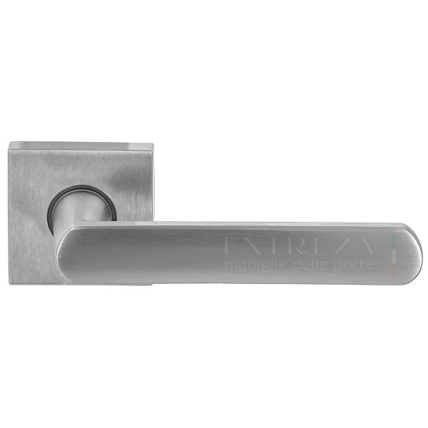 Дверная ручка Extreza Hi-tech AQUA (Аква) 113 R11 матовый хром F05