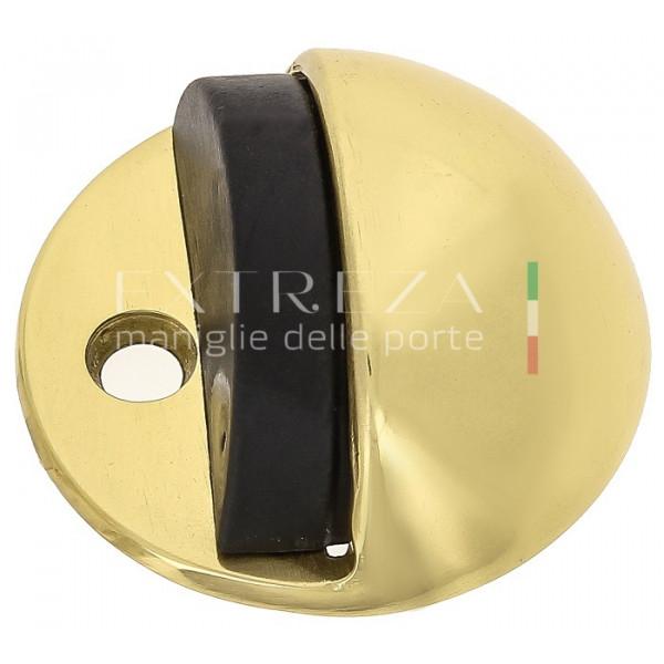 Упор дверной напольный Extreza D41 полированная латунь F01